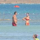 Ergin Ataman ve eşi Çeşme'de...