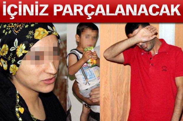 Antalya Kemer'de sokağa terk ettiği oğlunu pişman olup geri aldı