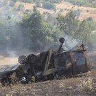 Malatya'da biçerdöverin altında kalan operatör yanarak hayatını kaybetti