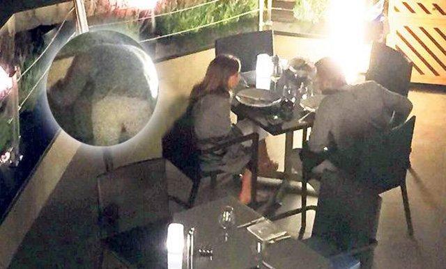Kenan İmirzalıoğlu ile Sinem Kobal'ın romantik yemeği