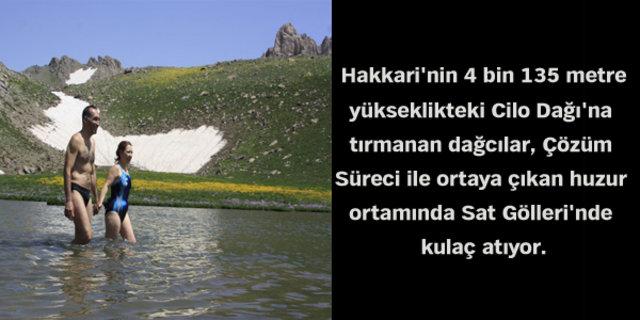Hakkari Cilo Dağı'ndaki büyük değişim!