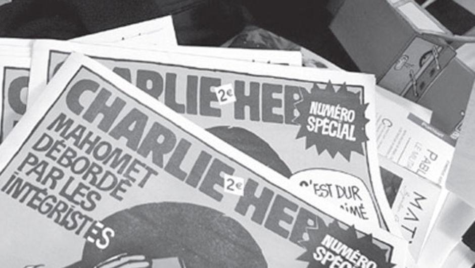 Ocak ayında Paris'teki merkezine düzenlenen silahlı saldırıda 10 yazar ve çizerini kaybeden hiciv gazetesi Charlie Hebdo Hz Muhammed karikatürü yayımlamama kararı aldı