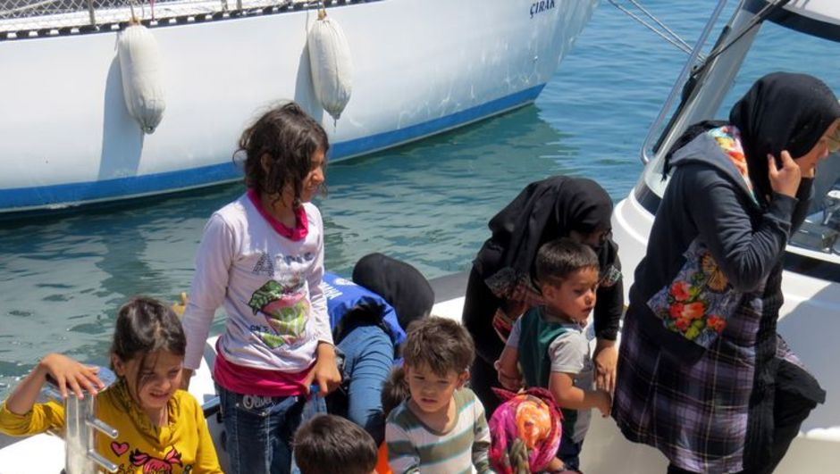 Ege Denizi Çanakkale kaçak Suriye