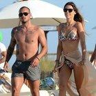 Wesley Sneijder ile  eşi Yolanthe Cabau 5. yıllarını kutladı