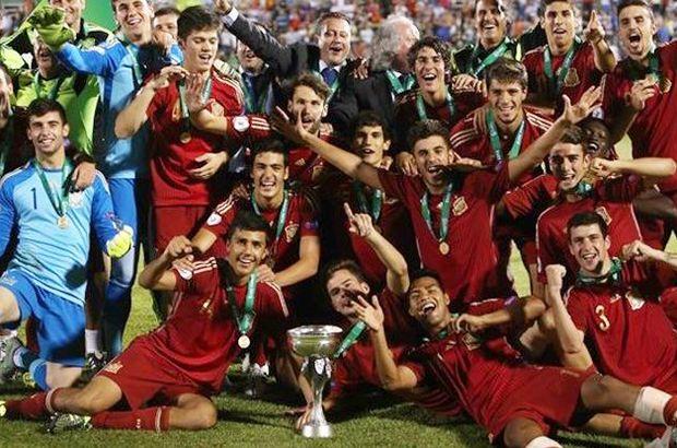 U19'da Şampiyon İspanya