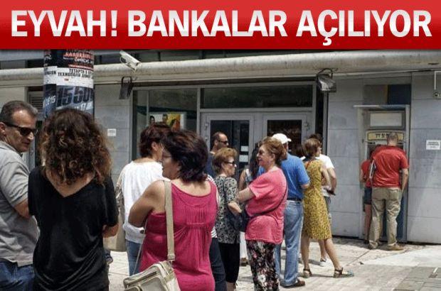 Yunanistan'da bankalar, Yunanistan kriz