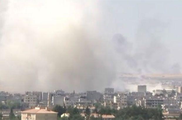 Suruç'ta gerçekleştirilen bombalı katliamın hemen ardından Kobani'de de bir patlama meydana geldi. Patlamanın Kobani Hükümet Binası yakınlarında meydana geldiği ve yaralıların olduğu bildiriliyor