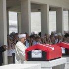 Vefat eden emekli TSK mensupları için tören