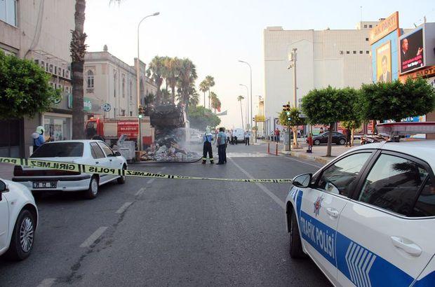 Hatay'da AK Parti binası önünde patlama