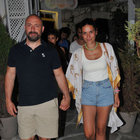 Halit Ergenç ve Bergüzar Korel'in gece gezmesi