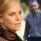 Charlize Theron'dan Obama'yı şaşırtan teklif