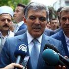 Abdullah Gül'den birlik çağrısı