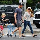Hollywood'un örnek ailesi alışverişte