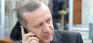 Cumhurbaşkanı Erdoğan'dan telefon trafiği
