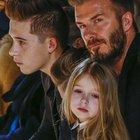 David Beckham kızının adını dövme yaptı