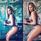 Khole Kardashian kapak oldu