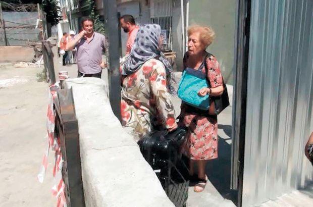 Üsküdar'da metro inşaatı tahliye ettirdi
