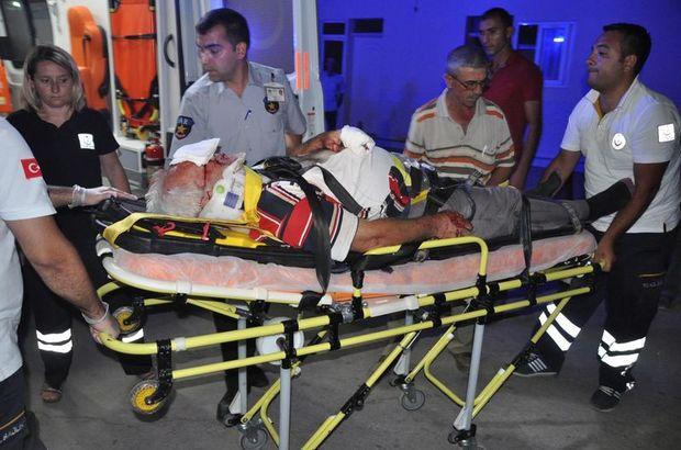 Motosikletleri çarpıştı: 1 ölü 1 ağır yaralı