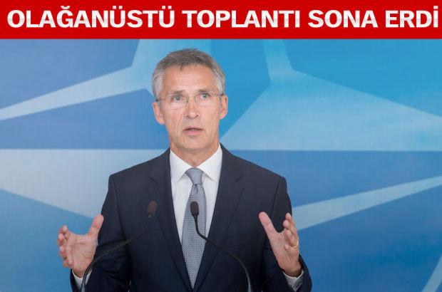 NATO Genel Sekreteri: Türkiye daha fazla askeri yardım istemedi