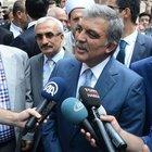 Abdullah Gül'den açıklama!
