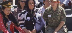 Jandarma Binbaşı Arslan Kulaksız için askeri tören