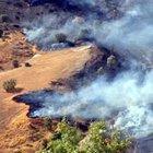 Şırnak'ta ormanlık alanda yangın