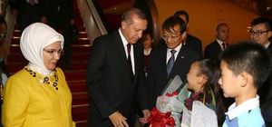 Erdoğan liderlerle IŞİD ve PKK konuştu