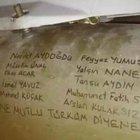 Hava harekatında kullanılan füzelere şehitlerin isimleri yazıldı