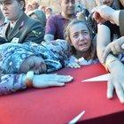 Şehit Uzman Çavuş Ziya Sarpkaya için cenaze töreni