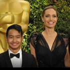Angelina Jolie büyük oğlu Maddox'u sinemaya alıştırıyor