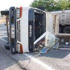 Adıyaman'da kamyonet devrildi: 1 ölü, 4 yaralı