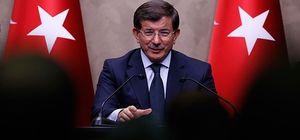 Davutoğlu CHP ile temasları sürdüren heyetle görüştü