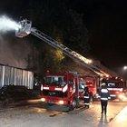 Gülhane Parkı'nda bulunan depoda yangın çıktı