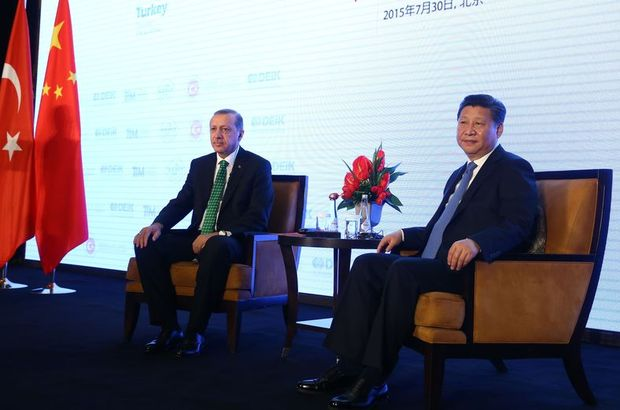Erdoğan: Çin ile dış ticaret açığını dengelemeliyiz