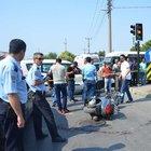 Bursa'da trafik ışıklarında pompalı dehşet