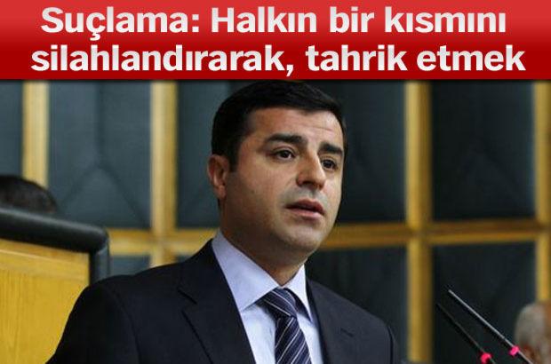 HDP Eş Genel Başkanı Selahattin Demirtaş, soruşturma, Kobani olayları