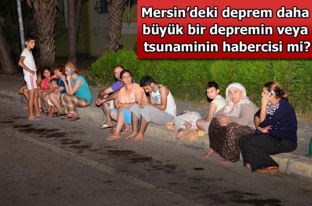 Akdeniz'de tsunami tartışması!