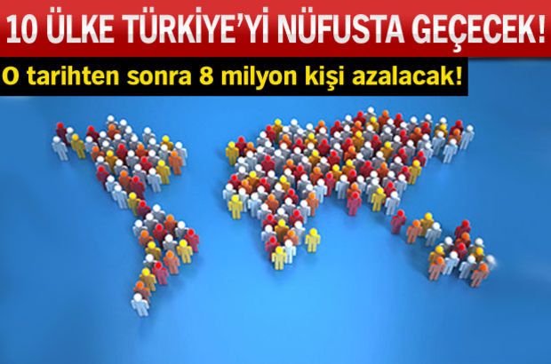 Türkiye için nüfus alarmı!