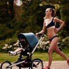 Bikinili, pusetli koşu tartışma yarattı