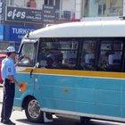 Klima açmayan 30 minibüs şoförüne 208'er lira ceza