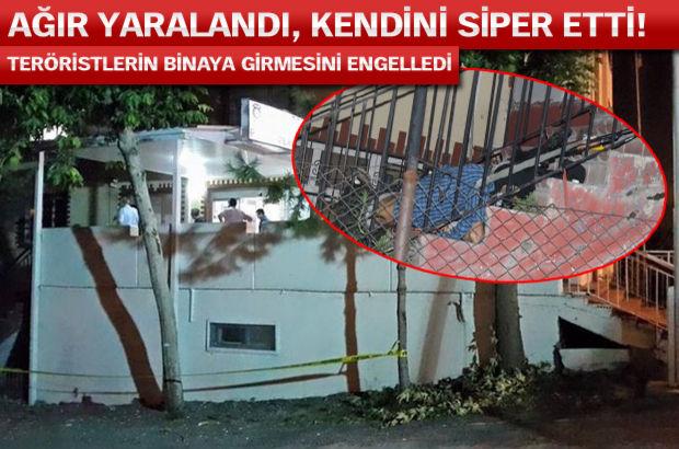 Adana'da emniyet müdürlüğüne saldırı! 2 polis şehit oldu