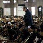 Erdoğan dünyanın dördüncü büyük camisinde namaz kıldı