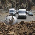 Hakkari-Çukurca yolunda bomba düzeneği