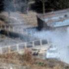 Hakkari'de zırhlı araca atılan roketatar mermisi, eve isabet etti
