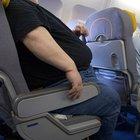 Obez yolcunun yanına oturdu 227 bin dolar istedi