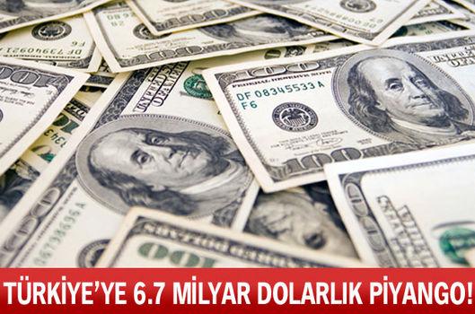 Türkiye'ye 6.7 milyar dolarlık piyango!
