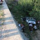 Denizli'de otomobil şarampole devrildi: 1 ölü 1 yaralı