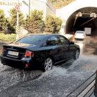 Azapkapı ve Bomonti'de yollar sular altında