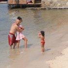 Yavuz Seçkin ailesiyle tatilde