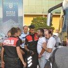 Bursa'da otobüs şoförü seyyar satıcıyı bıçakladı